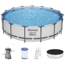BESTWAY Bazén Steel Pro Max 457x107cm 56488