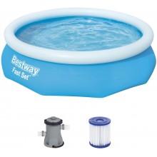 BESTWAY Bazén Fast Set, kartušová filtrace 305x76 cm 57270