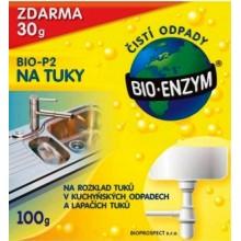 BIO Enzym BIO-P2 Biologický přípravek na tuky 100g