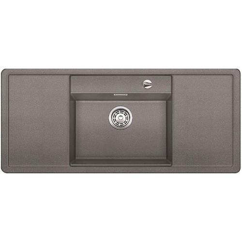 BLANCO Alaros 6 S dřez Silgranit tartufo, příslušenství bílé 517284