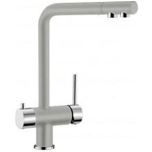 BLANCO Fontas dřezová baterie na filtrovanou a užitkovou vodu perlově šedá / chrom 520743