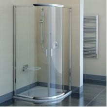 RAVAK BLIX BLCP4-90 sprchový kout čtvrtkruhový, bright alu+transparent 3B270C00Z1