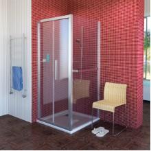 POLYSAN LUCIS LINE sprchová boční stěna 800mm, čiré sklo