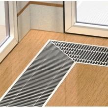 Boki Podlahový konvektor bez ventilátoru 5000 x 260 x 110 mm nerez FMK-26-500-11-11