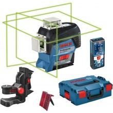 BOSCH GLL 3-80 CG Professional Křížový laser + GLM 50 C laserový měřič 0.601.063.T04