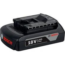 BOSCH Zásuvný akumulátor 18 V/1,5 Ah 2607336804