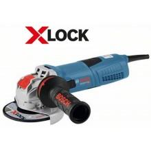 BOSCH GWX 13-125 S Professional Úhlová bruska s X-LOCK, 125mm, 1300W 06017B6002