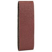BOSCH 3dílná sada brusných pásů pro pásové brusky, červená kvalita 100, 75 x 533 mm 2.609.256.219