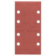 BOSCH 10dílná sada brusných papírů pro vibrační brusky, 93 x 185mm 2.609.256.A83