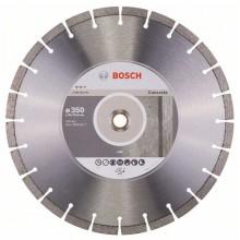 BOSCH Expert for Concrete Diamantový dělicí kotouč, 350 x 20,00+25,40 x 3,2 x 12 mm 2608602561