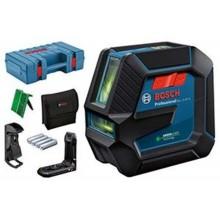 BOSCH GLL 2-15 G Čárový laser, 4x batere 1,5 AA + Kufr 0601063W02