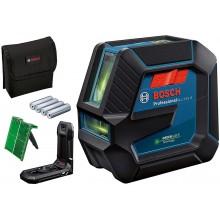BOSCH GLL 2-15 G Čárový laser, 4x batere 1,5 AA 0601063W00