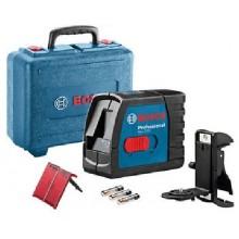 BOSCH GLL 2-15 Professional čárový laser v kufru