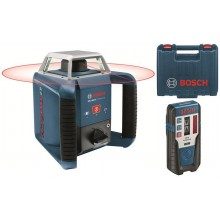 BOSCH GRL 400 H Set rotační laser + přijímač 0601061800