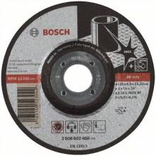BOSCH Expert for Inox Hrubovací kotouč profilovaný, 125x22,23x6 mm 2608602488