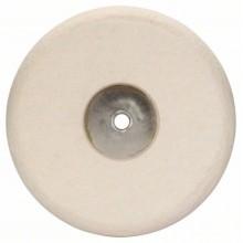 BOSCH Plstěný lešticí kotouč se závitem M 14, 180mm 1608612002