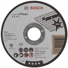 BOSCH Expert for Inox Dělicí kotouč rovný, 115 mm 2608600215