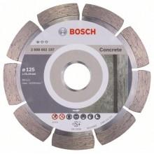 BOSCH Standard for Concrete Diamantový dělicí kotouč, 125 x 22,23 x 1,6 x 10 mm 2608602197