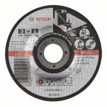 BOSCH Dělicí kotouč 3 v 1 115x22,23mm 2608602388