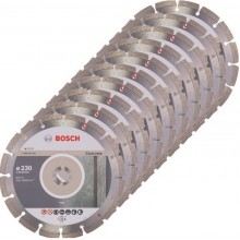 BOSCH Standard for Concrete Diamantový dělicí kotouč, 230 x 22,23 x 2,3 x 10 mm, 10ks 2608603243