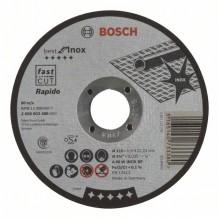 BOSCH Dělicí kotouč rovný Best for Inox – Rapido 115x0,8mm 2608603486