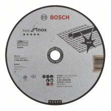 BOSCH Dělicí kotouč rovný Best for Inox – Rapido 230x1,9mm 2.608.603.500