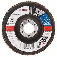 BOSCH Best for Metal Lamelový brusný kotouč X571, 115 mm, 22,23, 60, 2608605451