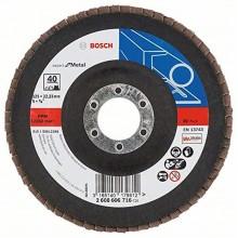 BOSCH Expert for Metal Lamelový brusný kotouč X551, 125x22,23mm, 120, 2608607347