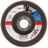 BOSCH Best for Metal Lamelový brusný kotouč X571, 125 mm, 22,23, 60, 2608606923