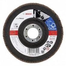 BOSCH Best for Metal Lamelový brusný kotouč X571, 125 mm, 22,23, 120, 2608607320