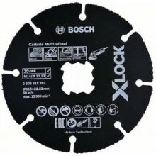 BOSCH X-LOCK CMW Řezací kotouč, 115x22,23x1mm, 10ks 2608619368