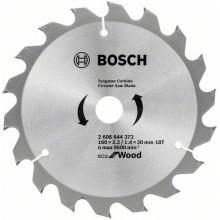 BOSCH Pilový kotouč Eco for Wood, 160x1,4 mm 2608644372