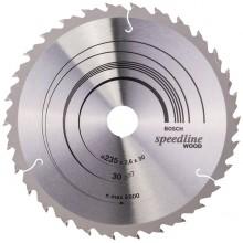 BOSCH Pilový kotouč Speedline Wood, 235x2,4/1,8 mm 2.608.640.807