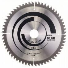 BOSCH Pilový kotouč Multi Material, 216x2,5/1,8 mm 2.608.640.446