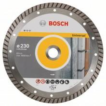 BOSCH Diamantový dělicí kotouč Standard for Universal Turbo, 230 mm 2608602397