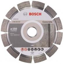 BOSCH Expert for Concrete Diamantový dělicí kotouč, 150 x 22,23 x 2,4 x 12 mm 2608602557