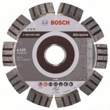 BOSCH Best for Abrasive Diamantový dělicí kotouč, 125 x 22,23 x 2,2 x 12 mm 2.608.602.680