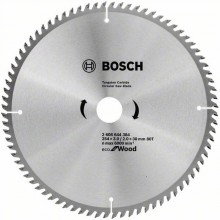 BOSCH Pilový kotouč Eco for Wood, 254x2 mm 2608644384