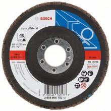 BOSCH Expert for Metal Lamelový brusný kotouč X551, 115x22,23mm, 80, 2608606754