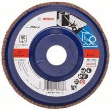 BOSCH Best for Metal Lamelový brusný kotouč X571, 125x22,23mm, 80, 2608607340