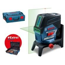 BOSCH GCL 2-50 CG křížový laser + RM 2 + sada nářadí Gedore 0.615.994.0KF