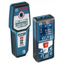 BOSCH GLM 50 C Professional Laserový dálkoměr + GMS 120 detektor 0.615.994.0HC