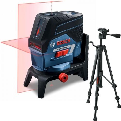 BOSCH GCL 2-50 C křížový laser + BT 150 Professional stativ 0.601.066.G02