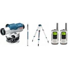 BOSCH GOL 26 D Professional Optický nivelační přístroj + sada vysílaček Motorola 0.615.994.00E