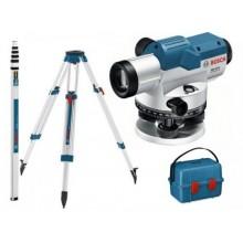 BOSCH GOL 20 D Optický nivelační přístroj + BT 160 stavební stativ + GR 500 měřicí lať 061599404R