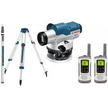 BOSCH GOL 32 G Professional Optický nivelační přístroj + sada vysílaček Motorola 0.615.994.0AY