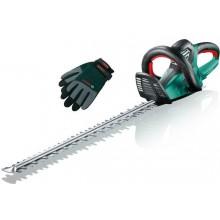 BOSCH AHS 65-34 elektrické nůžky na živé ploty + BOSCH pracovní rukavice XL Zdarma 0.600.847.J03