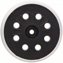 BOSCH Opěrný talíř středně tvrdý, 125 mm 2608601607