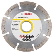 BOSCH ECO For Universal Diamantový dělicí kotouč 115x22.23x2.0x7mm 2608615027