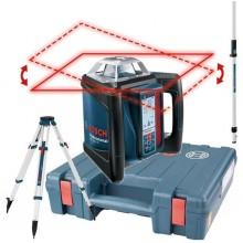 BOSCH GRL 500 H set rotačný laser + statív BT 170 HD + měřící lať GR 240 0.615.994.0EE
